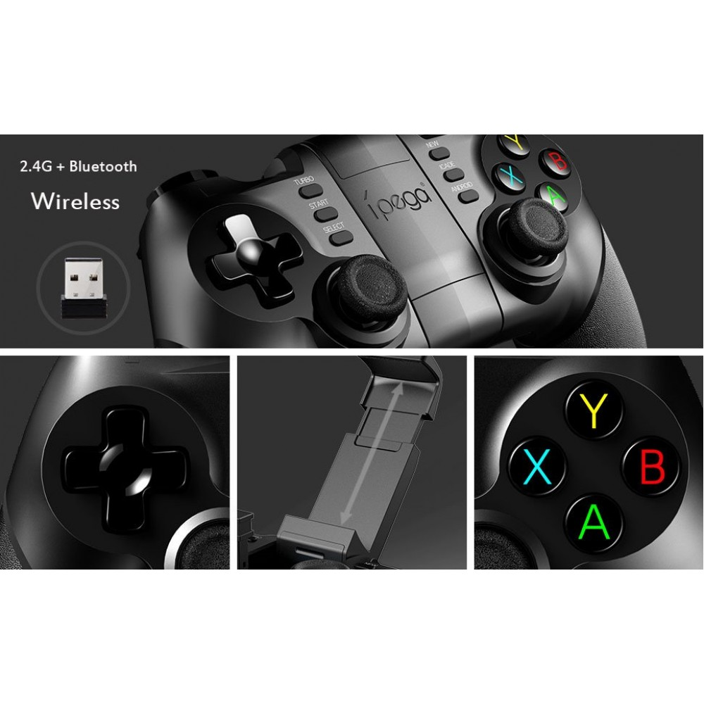 Ipega 9076 3 in 1 Bluetooth, 2.4G Wireless Gamepad Bluetooth for iPhone/samsung/HTC/MOTO / Android ...
