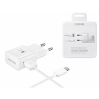 SAMSUNG ΦΟΡΤΙΣΤΗΣ ΤΑΞΙΔΙΟΥ EP-TA20EWE + EP-DN930CWE - TYPE-C 2000MAH FAST CHARGER WHITE (RETAIL)